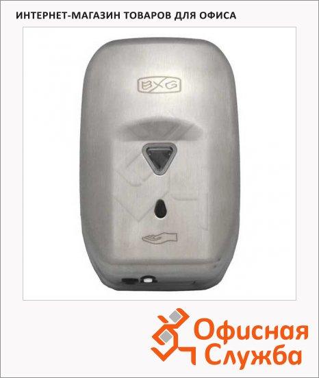 фото: Диспенсер для мыла наливной Bxg Premium ASD-1200 матовый металлик, 1.2л, сенсорный