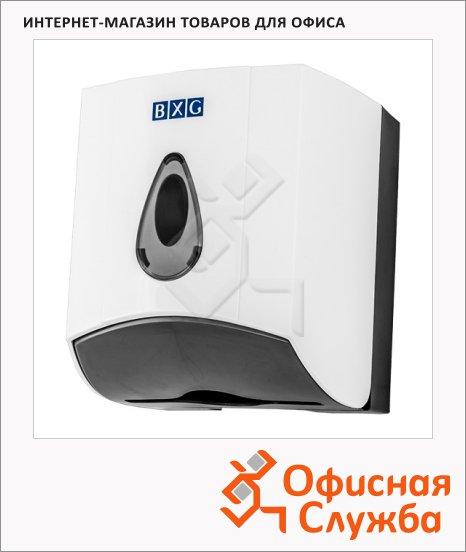 Диспенсер для листовой и рулонной туалетной бумаги Bxg PDM-8087, белый, для стандартных рулонов
