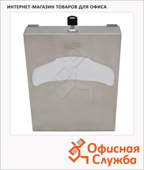 Диспенсер для индивидуальных покрытий на унитаз Bxg Premium CDA-9019, хром