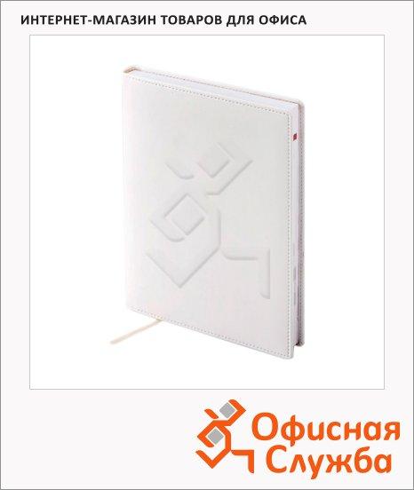 Ежедневник полудатированный Brunnen Оптимум Софт белый, А5, 180 листов