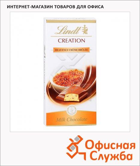 Шоколад Lindt Creation молочный, 100г, крем-брюле