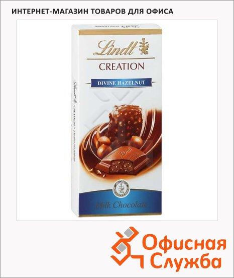 Шоколад Lindt Creation молочный, 100г, с орехами