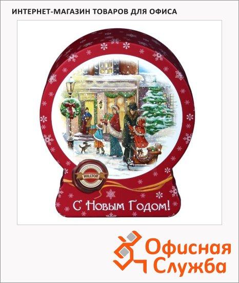 Чай Hilltop Зимняя сказка, черный, листовой, 100 г, ж/б