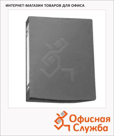 Скоросшиватель пружинный Бюрократ серый, А4, PZ05PGREY
