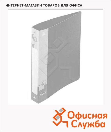 Папка с боковым и верхним зажимами Бюрократ прозрачная, А4, 0.7мм, PZ07D+S