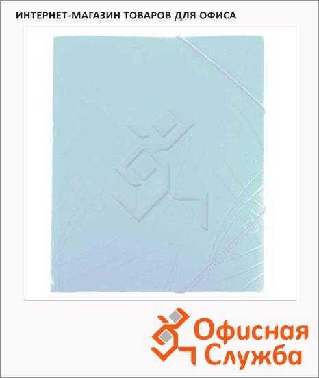 Пластиковая папка на резинке Бюрократ Galaxy белая, A4, GA510wt/816770