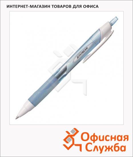 фото: Ручка шариковая автоматическая Uni Jetstream SXN-157S синяя 0.7мм