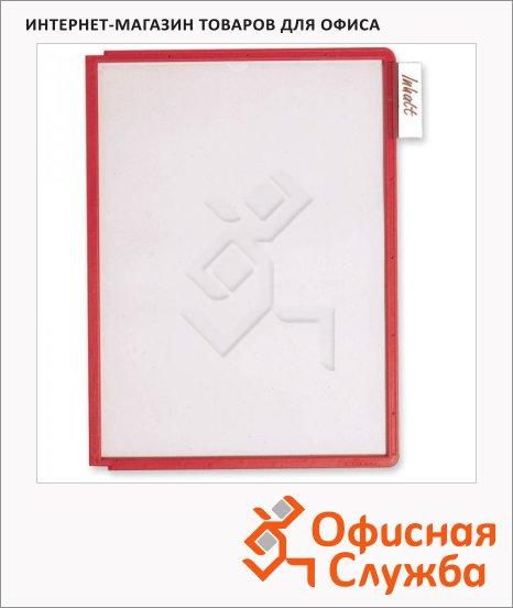 Панель для демосистем Durable А4, красный, 5606-03