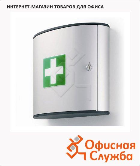 Аптечка офисная Durable 2 лотка, серебристый, 302x280x118мм, 1970-23