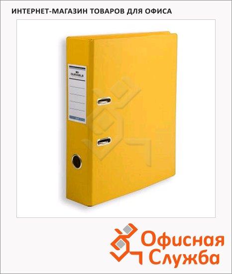 фото: Папка-регистратор А4 Durable желтая 70 мм, 3110-04