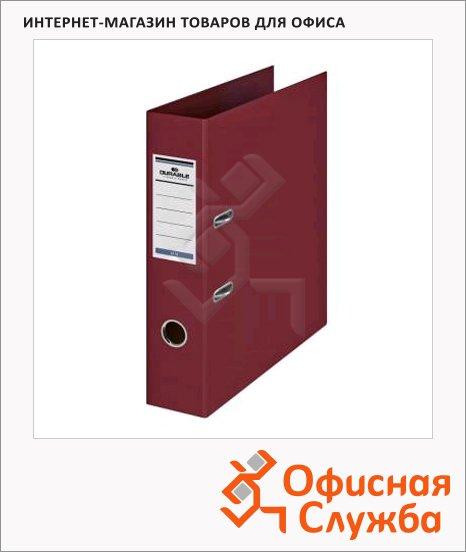 Папка-регистратор А4 Durable темно-красная, 70 мм, 3110-31