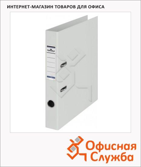 Папка-регистратор А4 Durable белая, 50 мм, 3120-02