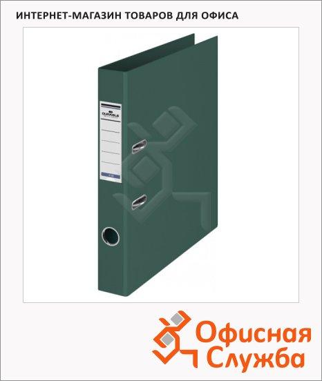 фото: Папка-регистратор А4 Durable темно-зеленая 50 мм, 3120-32