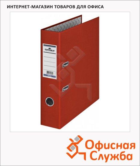 фото: Папка-регистратор А4 Durable красная 50 мм, 3210-03