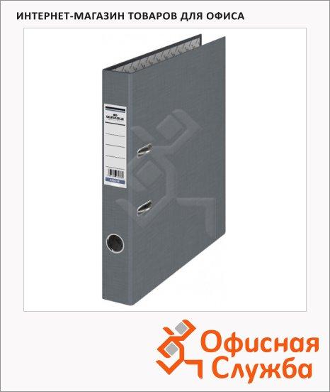 фото: Папка-регистратор А4 Durable серая 50 мм, 3220-10