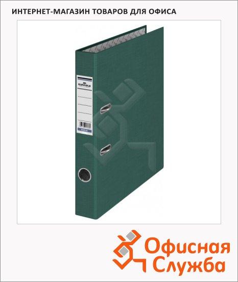 фото: Папка-регистратор А4 Durable темно-зеленая 50 мм, 3220-32
