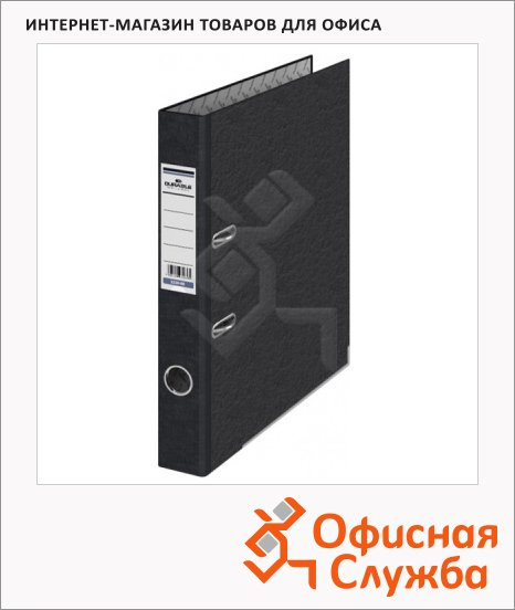 фото: Папка-регистратор А4 Durable 50мм черный мрамор, 3320-00