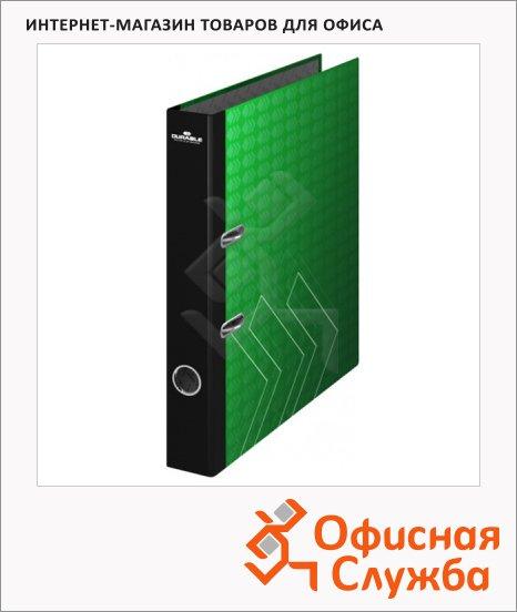 Папка-регистратор А4 Durable зеленая-орнамент, 50 мм, 5120-32