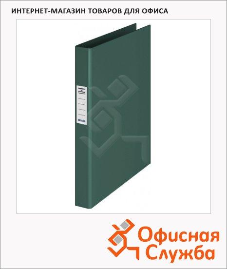 Папка на 2-х кольцах А4 Durable темно-зеленая, 35 мм, 3130-32