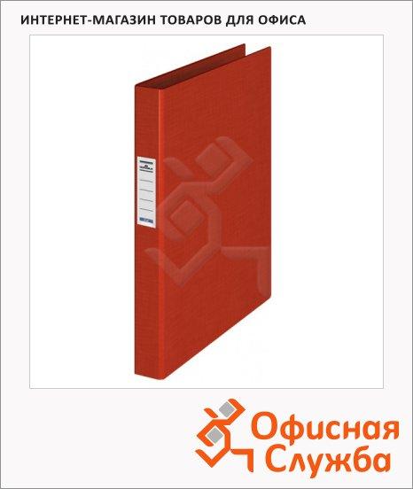 Папка на 4-х кольцах А4 Durable красная, 35 мм, 3140-03