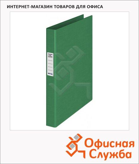 Папка на 4-х кольцах А4 Durable зеленая, 35 мм, 3140-05