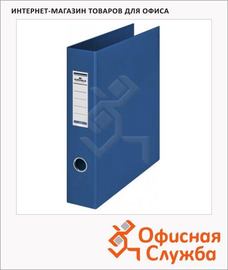 Папка на 4-х кольцах А4 Durable, 65 мм, синяя, 3160-07