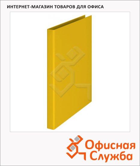 Папка на 4-х кольцах А4 Durable, 25 мм, желтая, 3170-04
