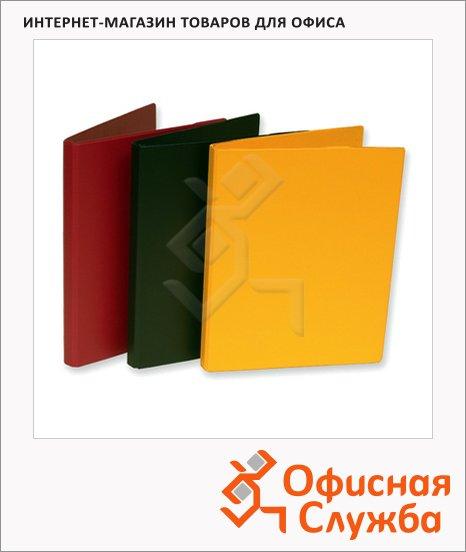 Пластиковая папка с зажимом Durable желтая, 3301-04
