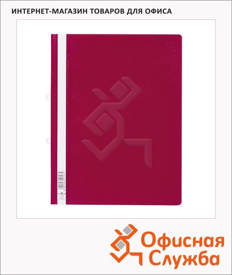 Скоросшиватель пластиковый Durable красный, А4, 258003