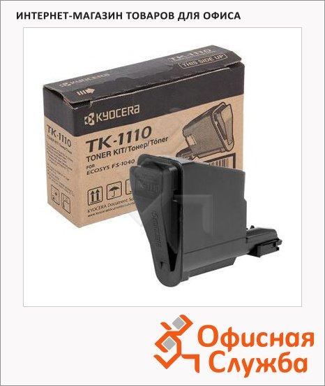 фото: Тонер-картридж Kyocera Mita TK-1110 черный