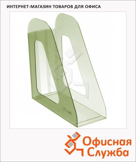 фото: Накопитель вертикальный для бумаг Стамм Фаворит А4 90мм, лайм, ЛТ707