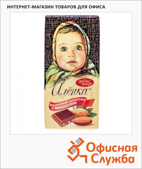 фото: Шоколад Красный Октябрь Аленка миндаль 100г