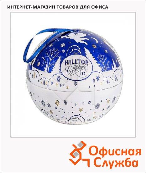 Чай Hilltop Шар Снежный ангел, черный, листовой, 100 г, ж/б