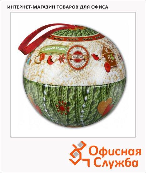 Чай Hilltop Шар Теплый подарок, черный, листовой, 100 г, ж/б