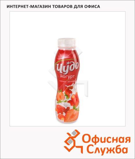 Йогурт питьевой Чудо 2.4% клубника-земляника, 290г