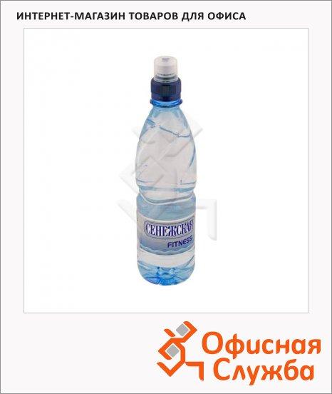 фото: Вода минеральная Сенежская Fitness без газа 500мл, ПЭТ