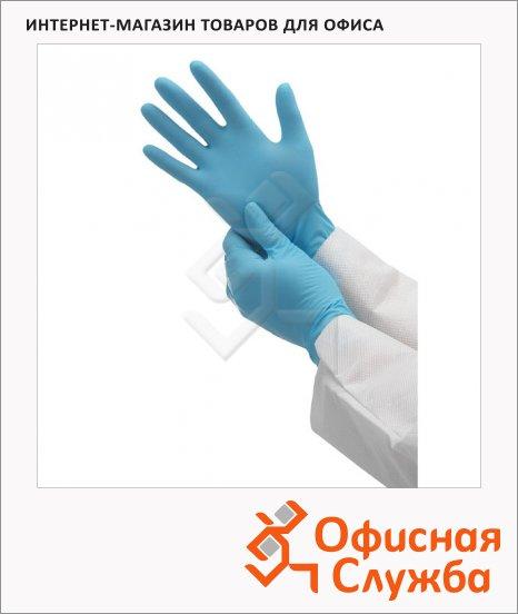 фото: Перчатки нитриловые Kimberly-Clark Кleenguard Flex G10 38521 голубые, 50 пар, L