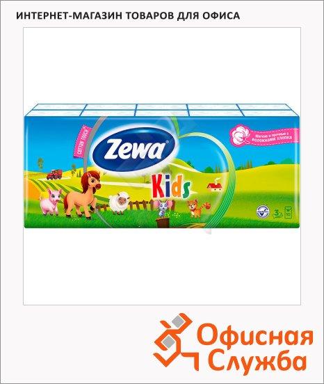 фото: Носовые платки Zewa Детские 10уп х 10шт 3 слоя