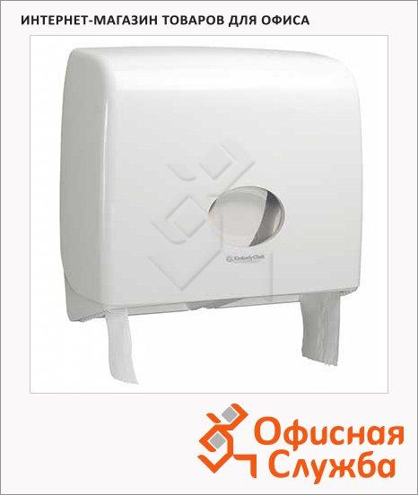 фото: Диспенсер для туалетной бумаги в рулонах Kimberly-Clark Aquarius 6991 белый
