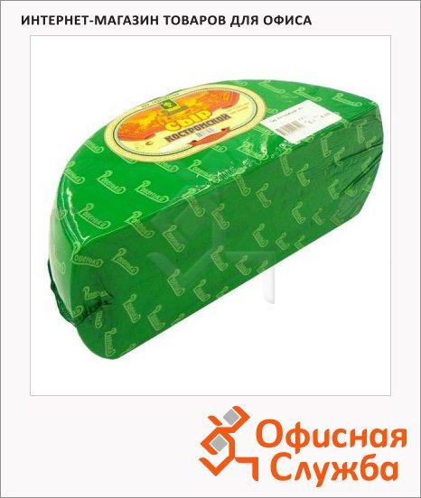 Сыр твердый Ровеньский 45% Костромской, кг