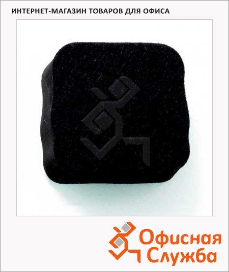 фото: Стиратель для стеклянной доски Super Strong 23901 5х5см магнитный, черный
