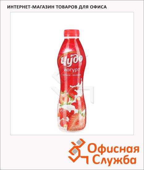фото: Йогурт питьевой Чудо 2.4% клубника-земляника 690г