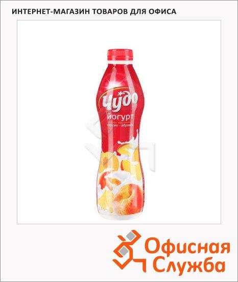 фото: Йогурт питьевой Чудо 2.4% персик-абрикос 690г
