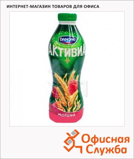 Йогурт питьевой Активиа 2.2% малина-злаками, 870г