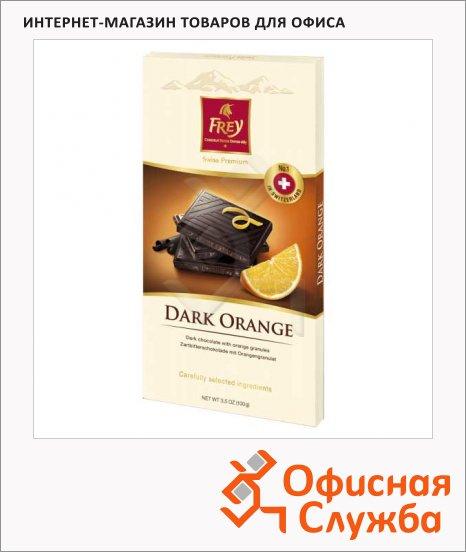 Шоколад Frey горький апельсин, 100г