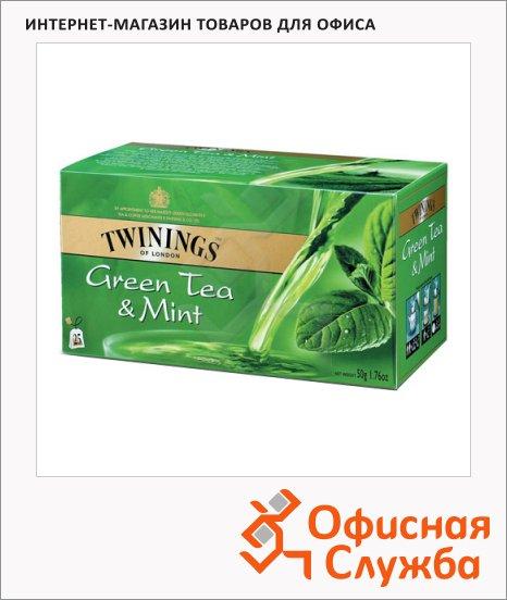��� Twinings Green Mint, �������, 25 ���������