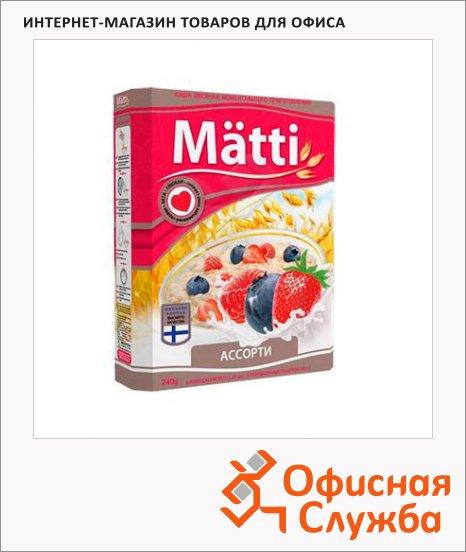 Каша овсяная Matti ассорти, 240г