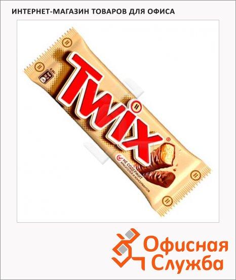 Батончик шоколадный Twix Xtra шоколадный, 55г