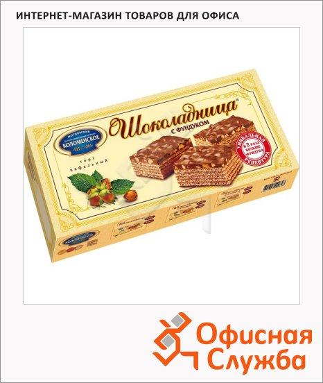 фото: Торт Шоколадница вафельный с фундуком 270г