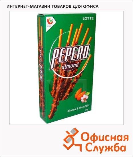 Соломка Pepero с шоколадом и миндалем, 36г
